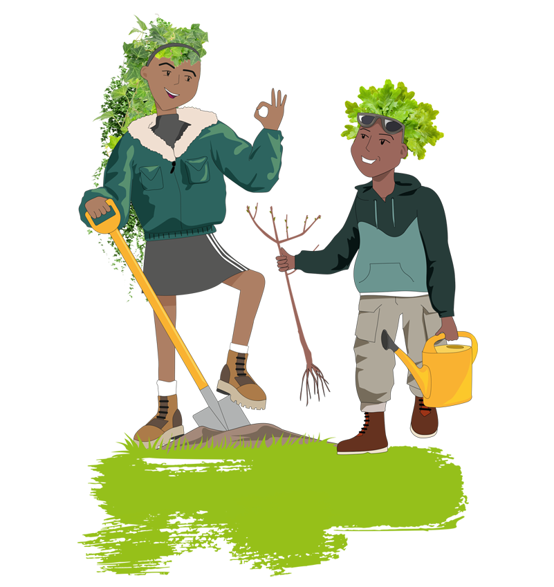 The Tree Council S Young Tree Champions Here you can explore hq cartoon tree transparent illustrations, icons and clipart with filter polish your personal project or design with these cartoon tree transparent png images, make it even more. the tree council s young tree champions