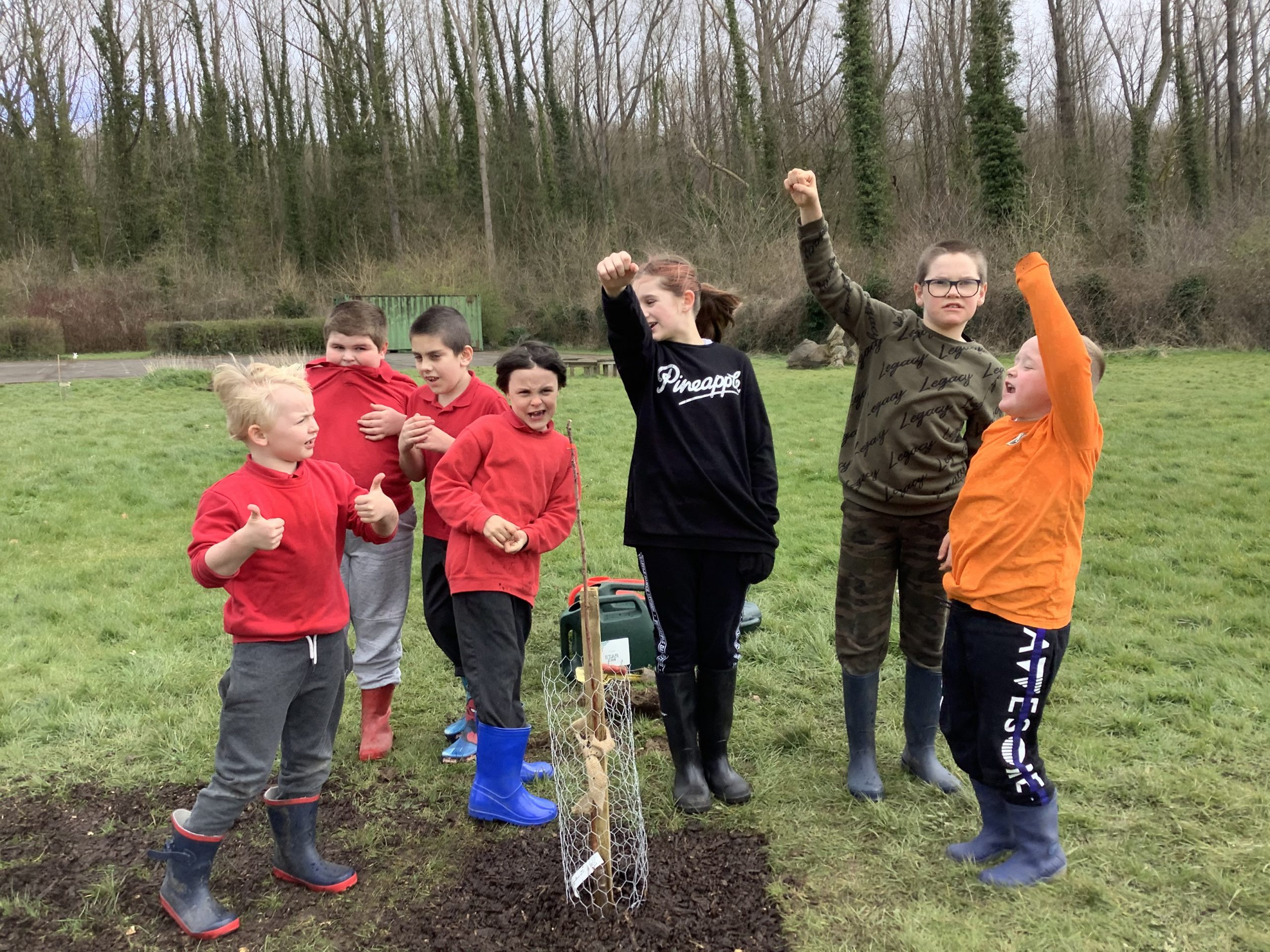 Everyone can participate in authentic, outdoor learning! Together we are stronger!