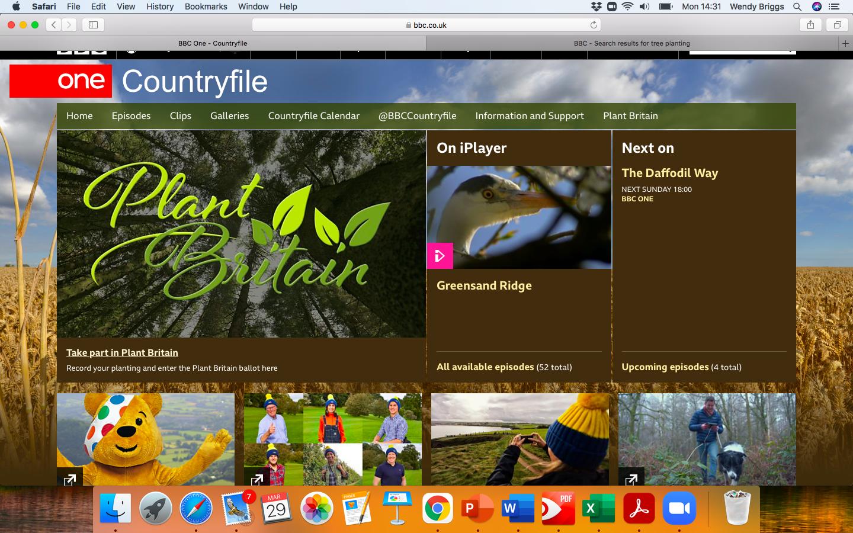 BBC Country File Plant Britain.