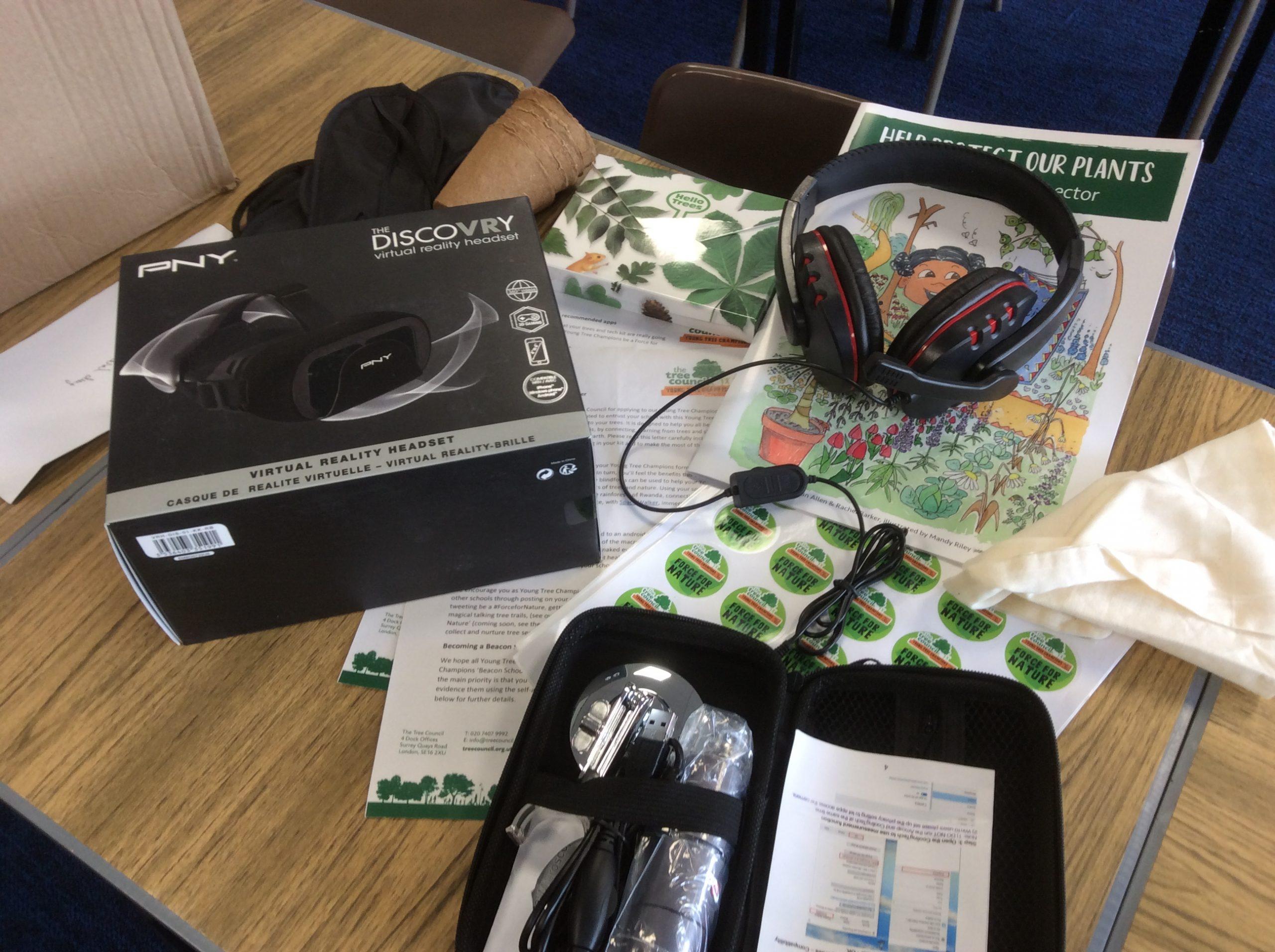 Tech kit has arrived!