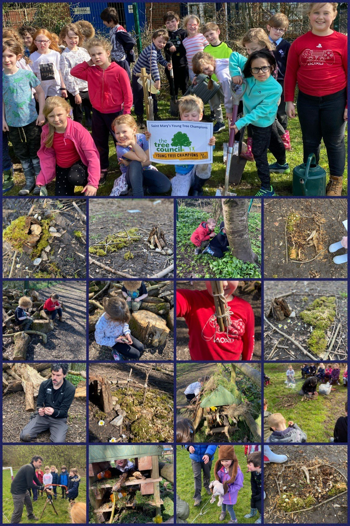 Launching Young Tree Champions March 2021