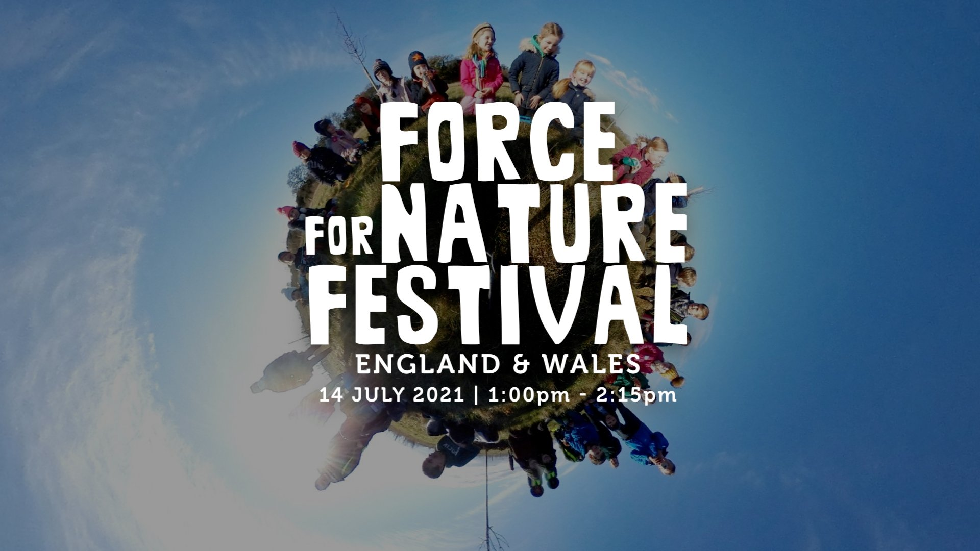 It's Festival Day – Book a ticket and join us at 1pm to 2:15pm today