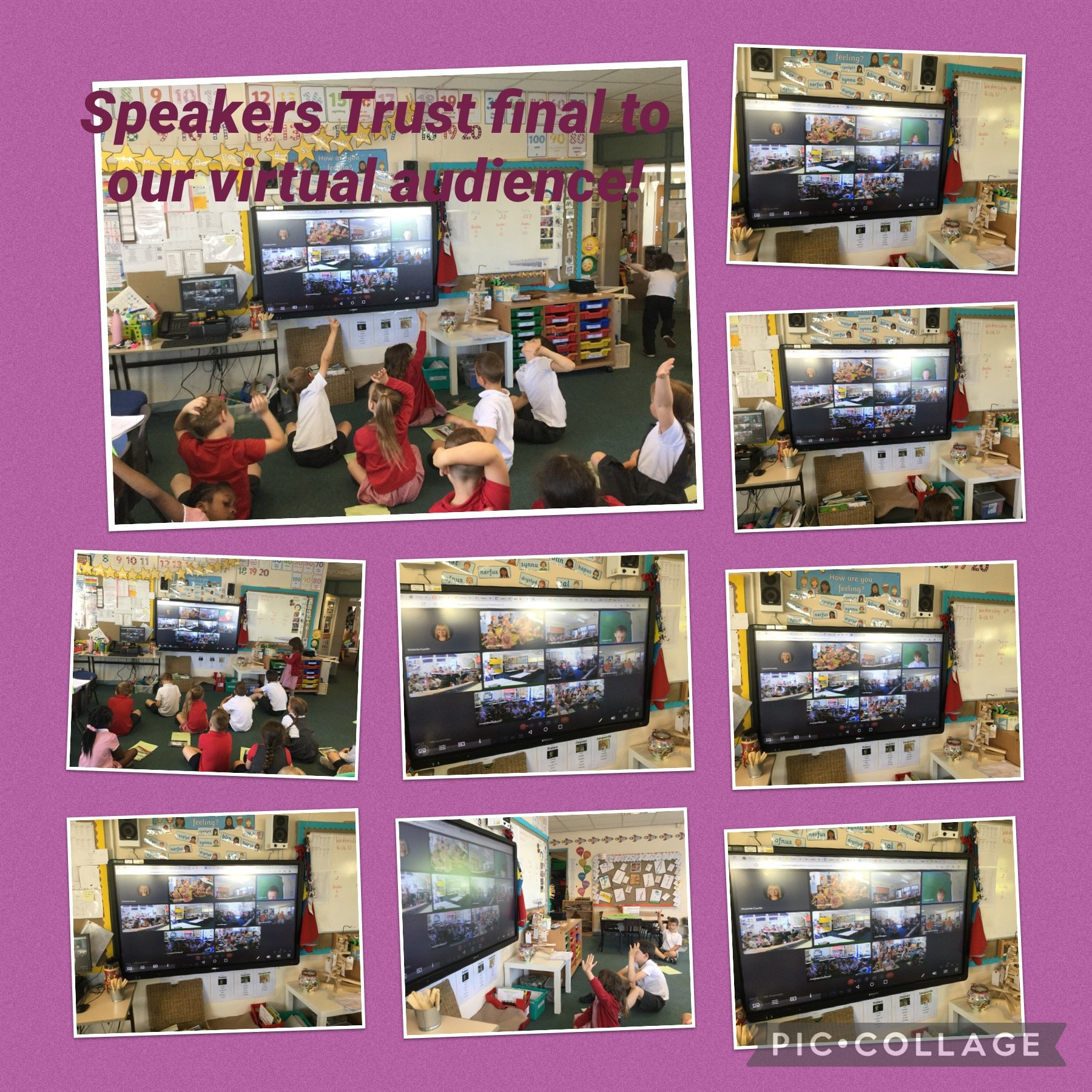 Our Speakers Trust final to our virtual audience.