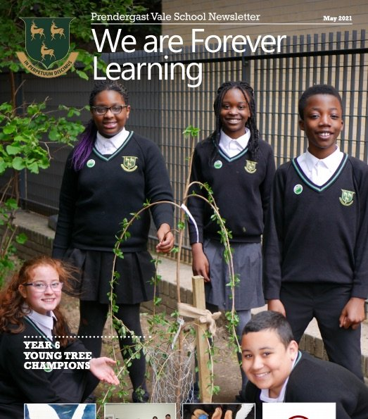 Year 6 Young Tree Champions make the front page