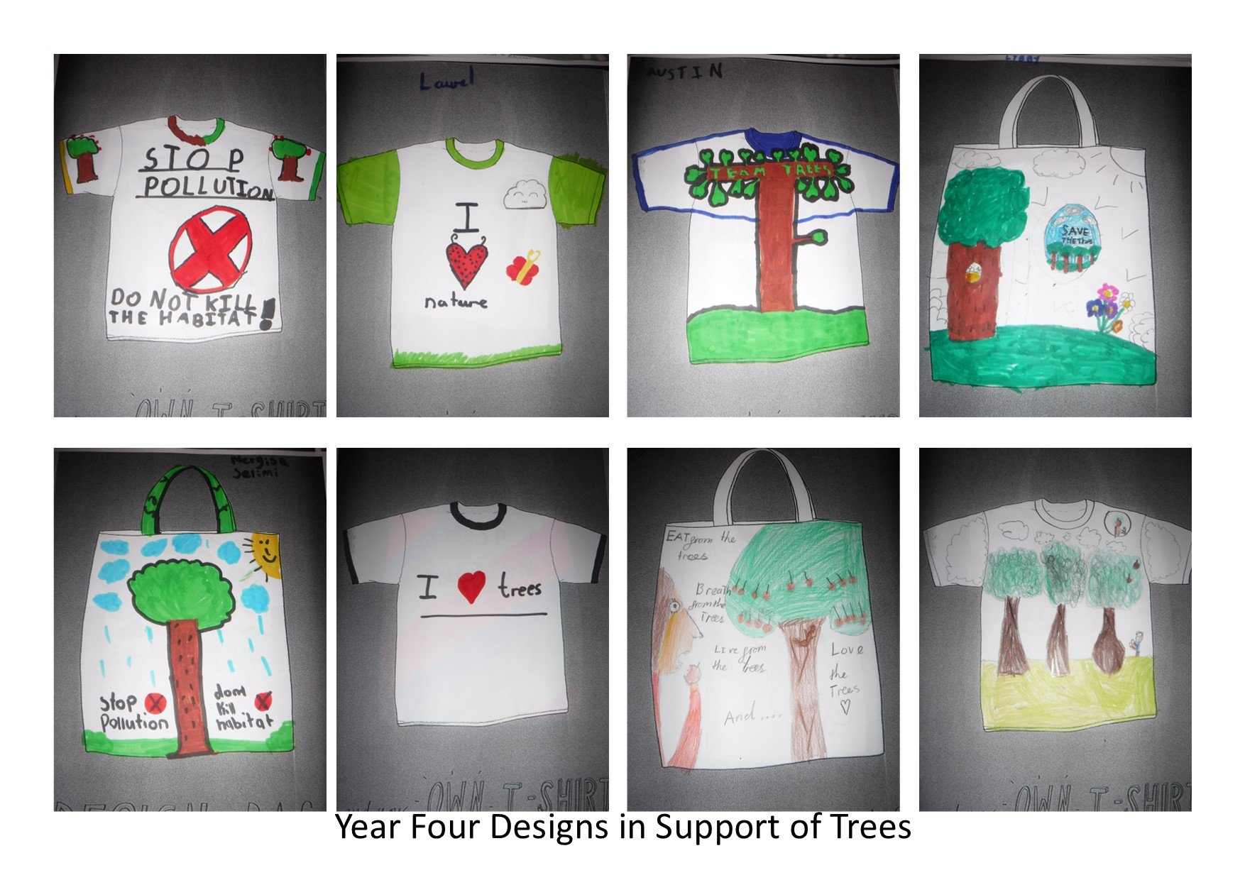 Tree Inspired T-Shirt Designing
